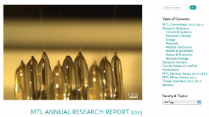 MTL Annual review 2013